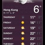Suhu Udara HK