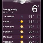 Suhu Udara di HK